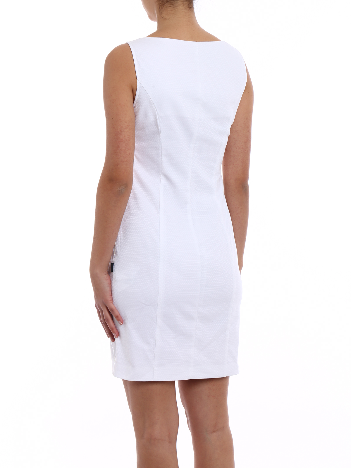 White Cotton Sheath