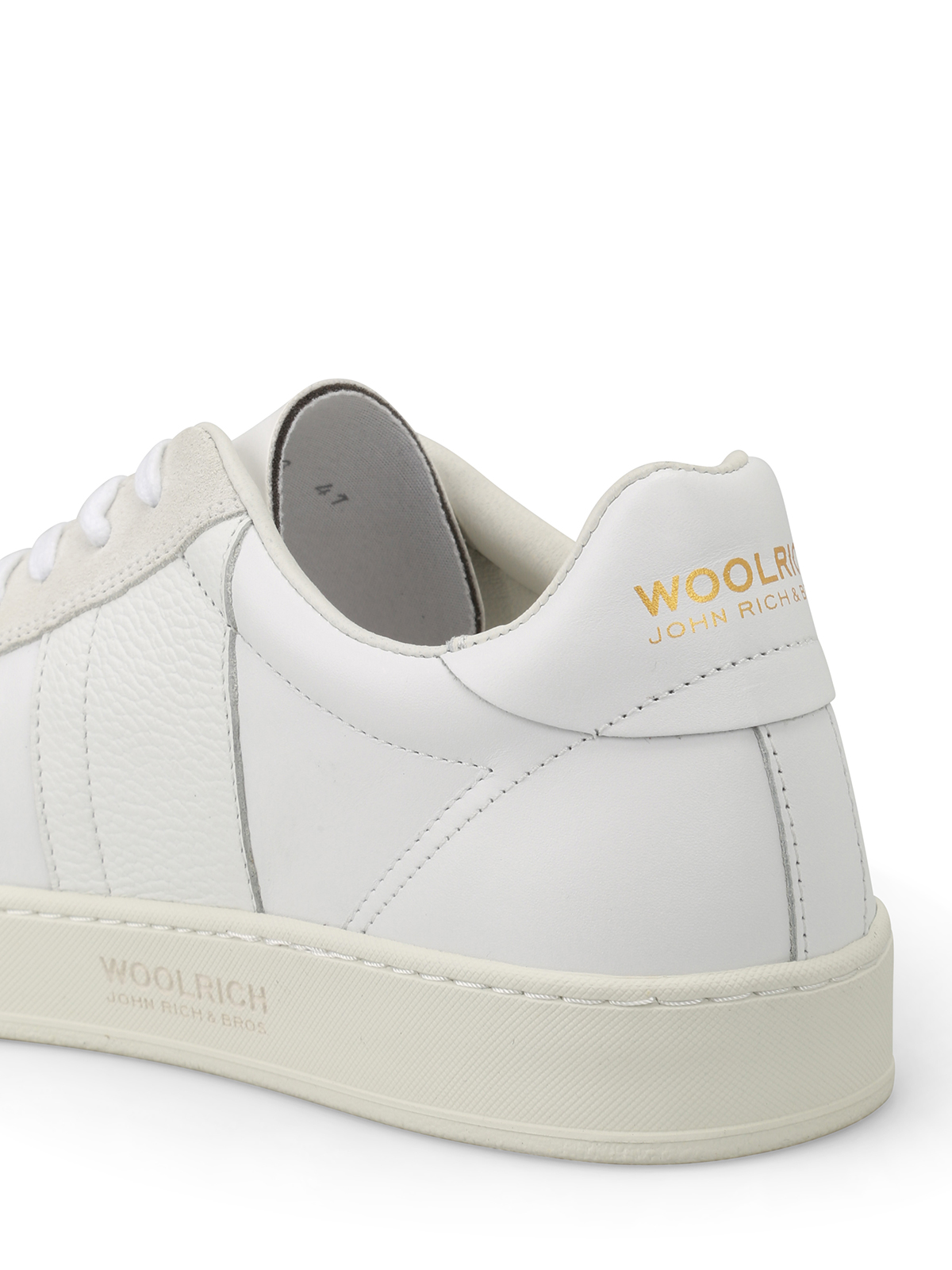 For Cheap Sale Online Woolrich Leather Sneakers Clearance Pre Order Discount For Nice Sale Best Best Store To Get For Sale TKUGdr