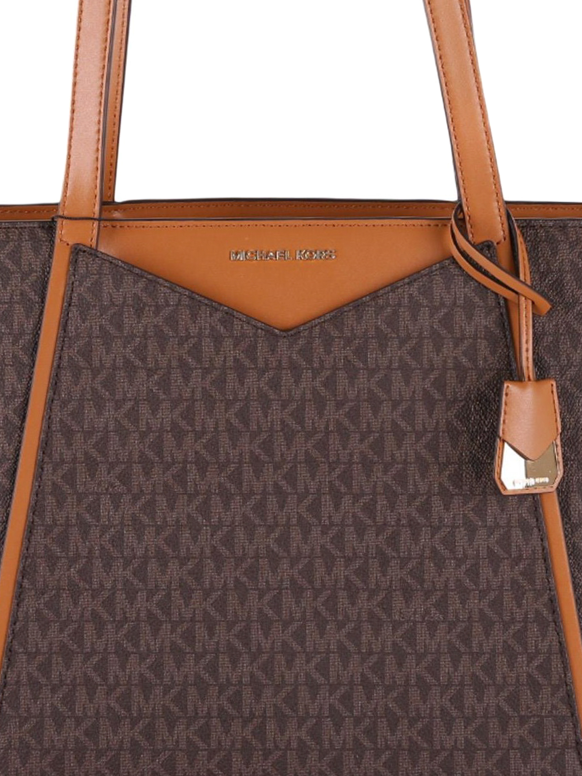 775d0ab793da7 Michael Kors - Whitney small brown tote - totes bags - 30S8GN1T1B 200