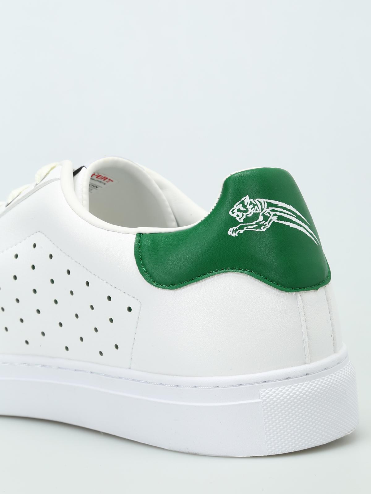 Sneaker Con Sneakers Sport Wide Plein Tallone Verde F1TlKJc