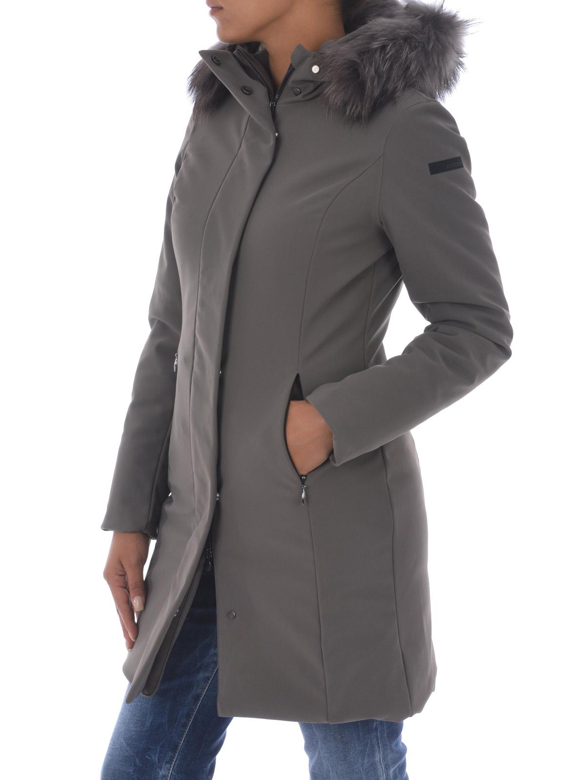 8b905e401249 RRD - Piumino Winter Long Lady Fur - cappotti imbottiti - W17501F80