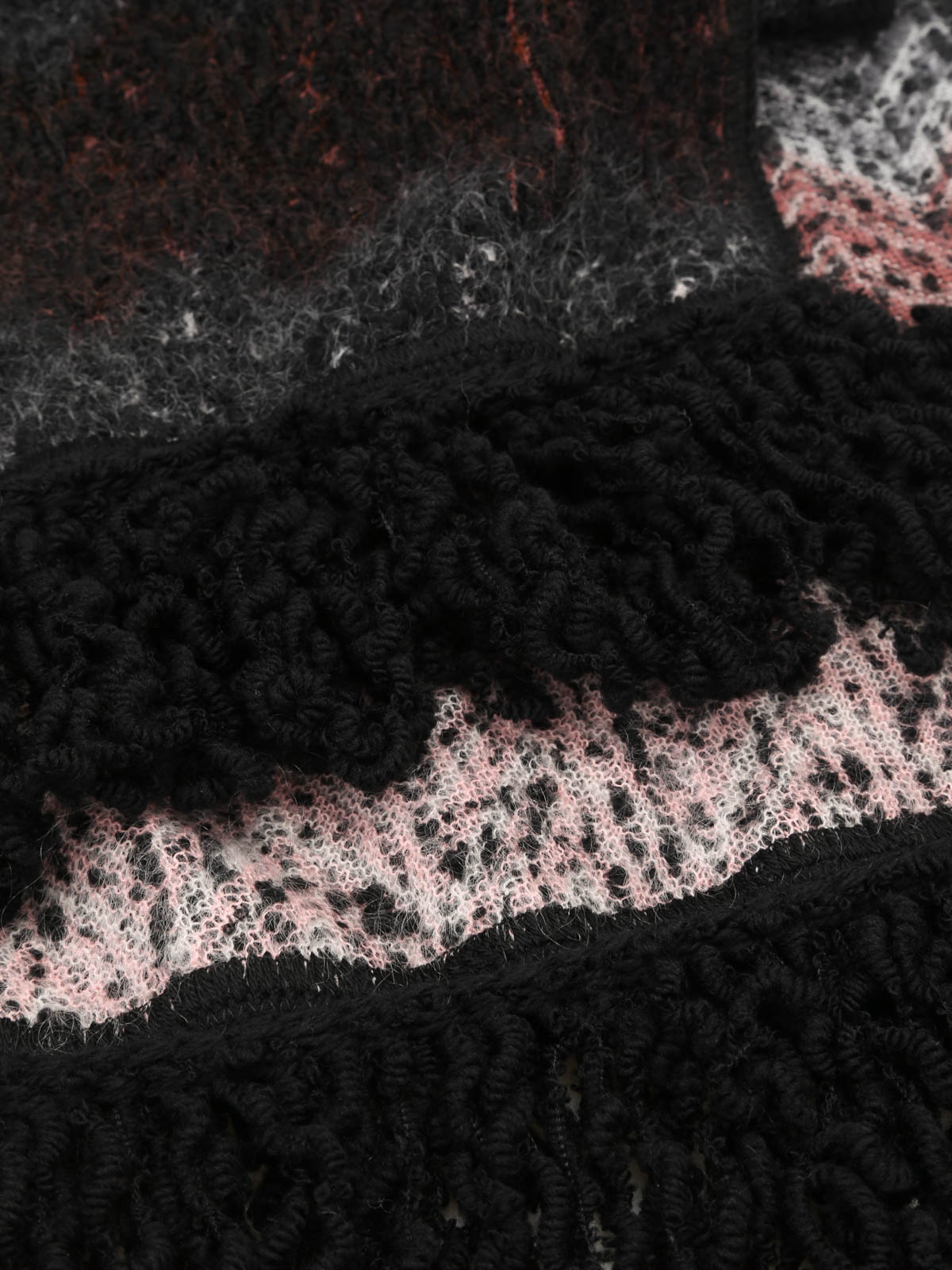 Missoni - Wool and mohair reversible scarf - scarves - I15