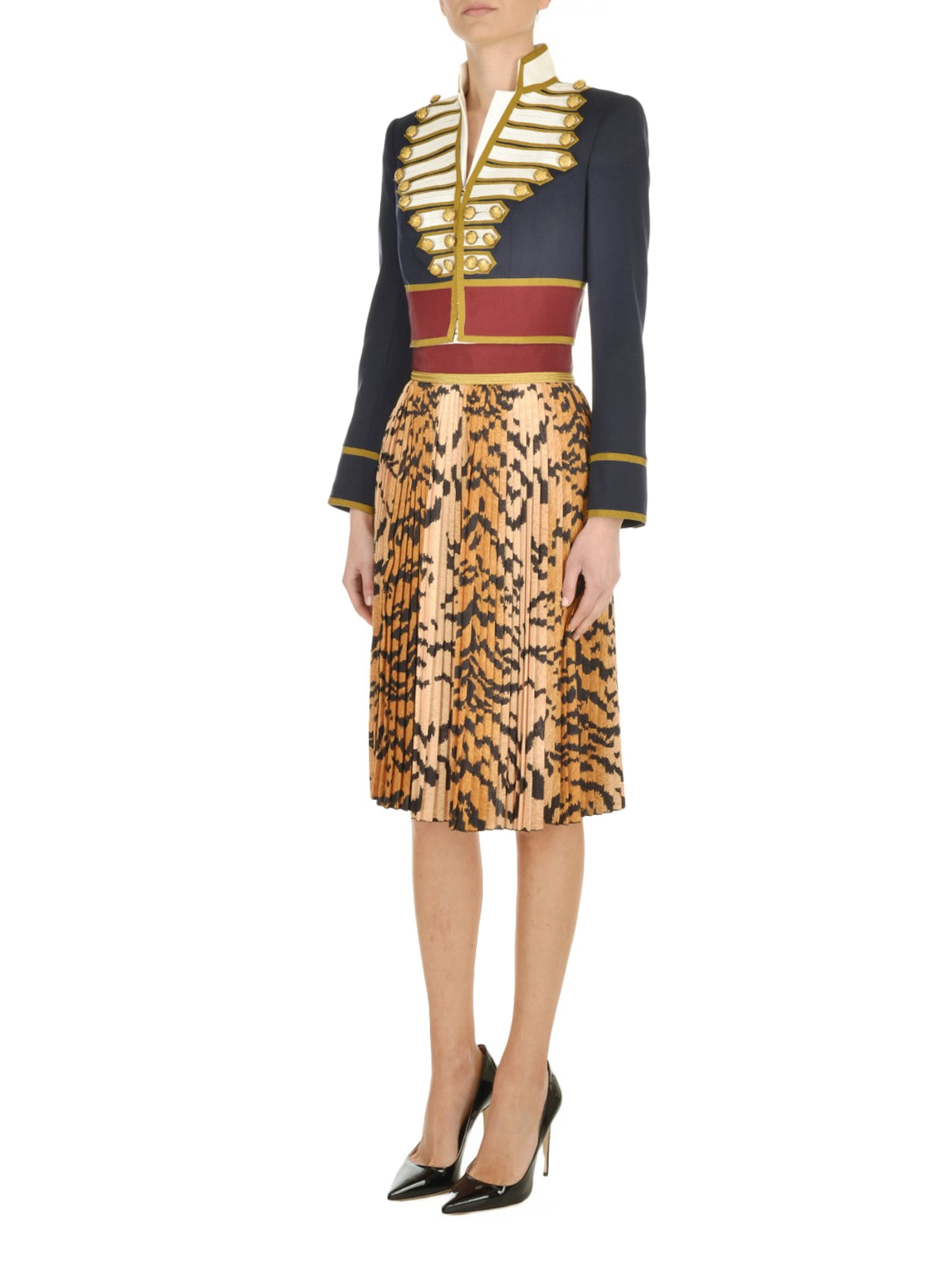 Dsquared2 - Giacca stile uniforme in lana - giacche sartoriali ... 4a153372363c