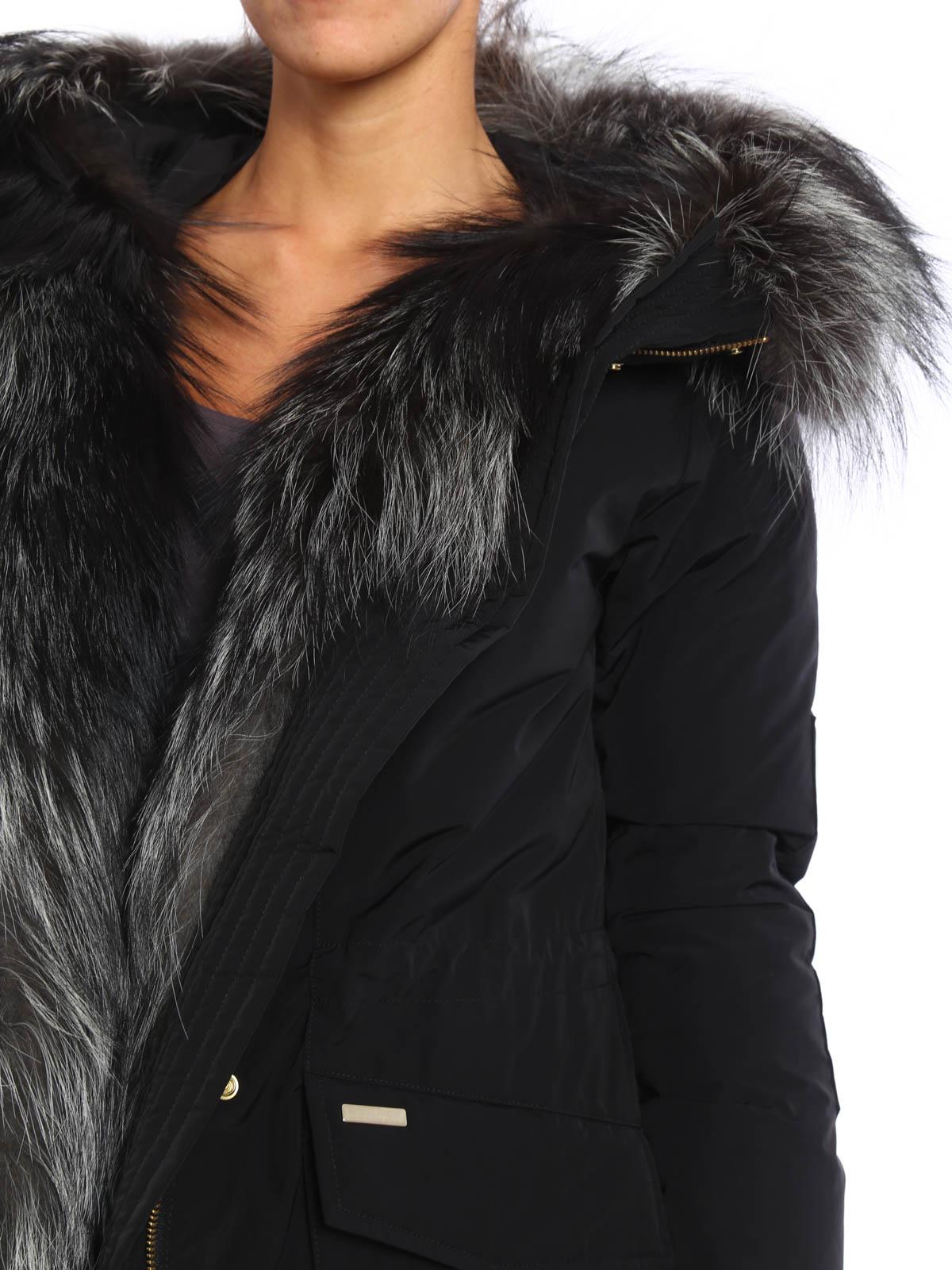 lowest price 87820 0b60c Woolrich - Fox fur military parka - parkas - WWCPS2385 SM20 100
