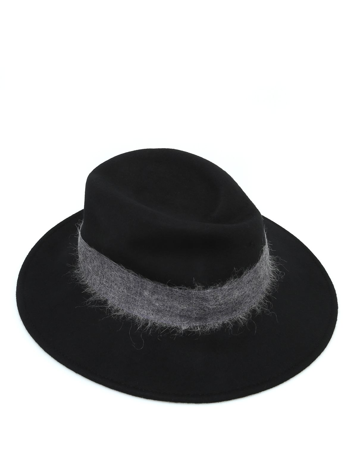 Woolrich - Felt hat with contrasting wide band - hats   caps ... 42c209df913