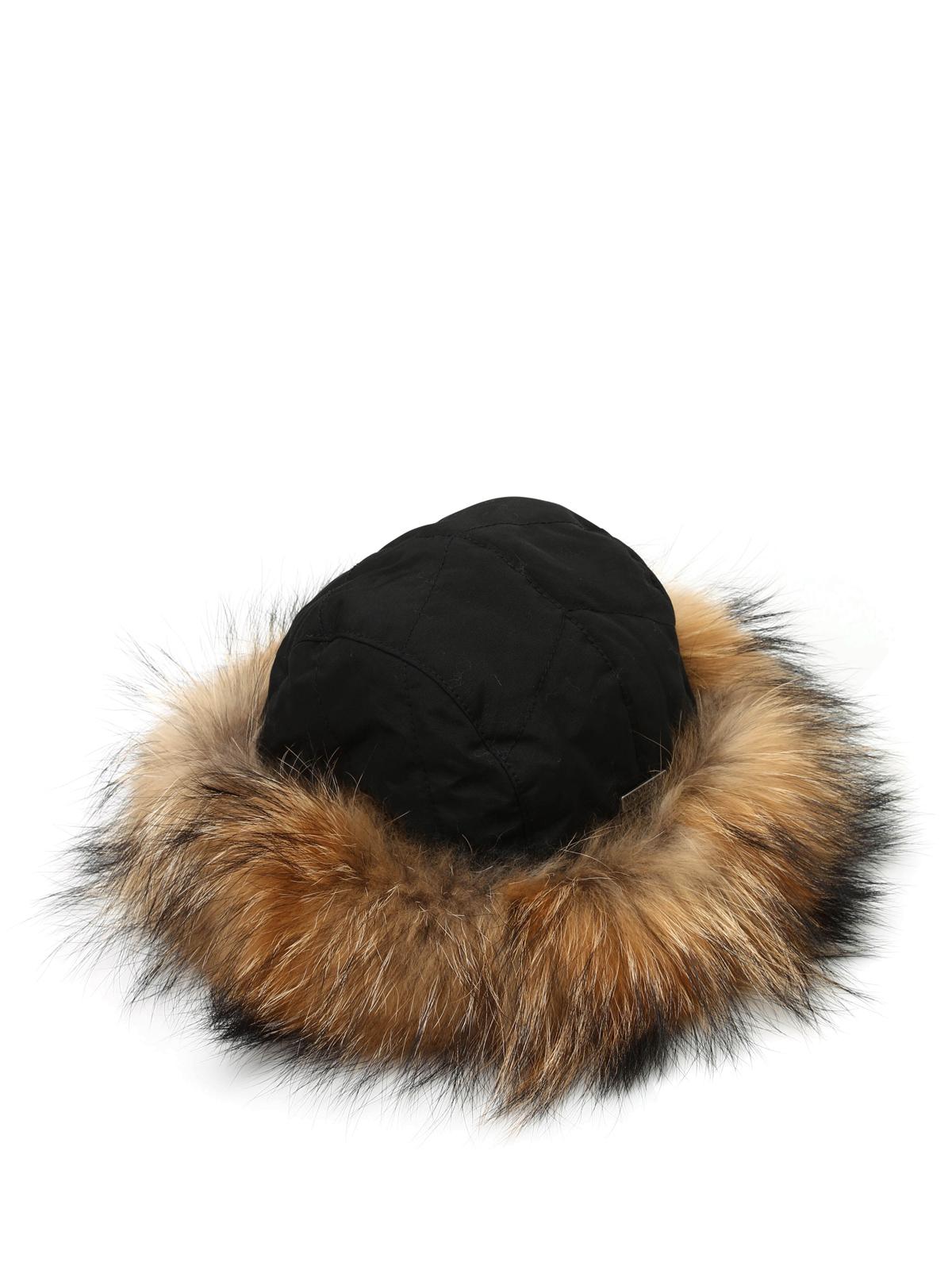 nuovo massimo vendite calde primo sguardo Woolrich - Cappello imbottito in pelliccia - cappelli ...
