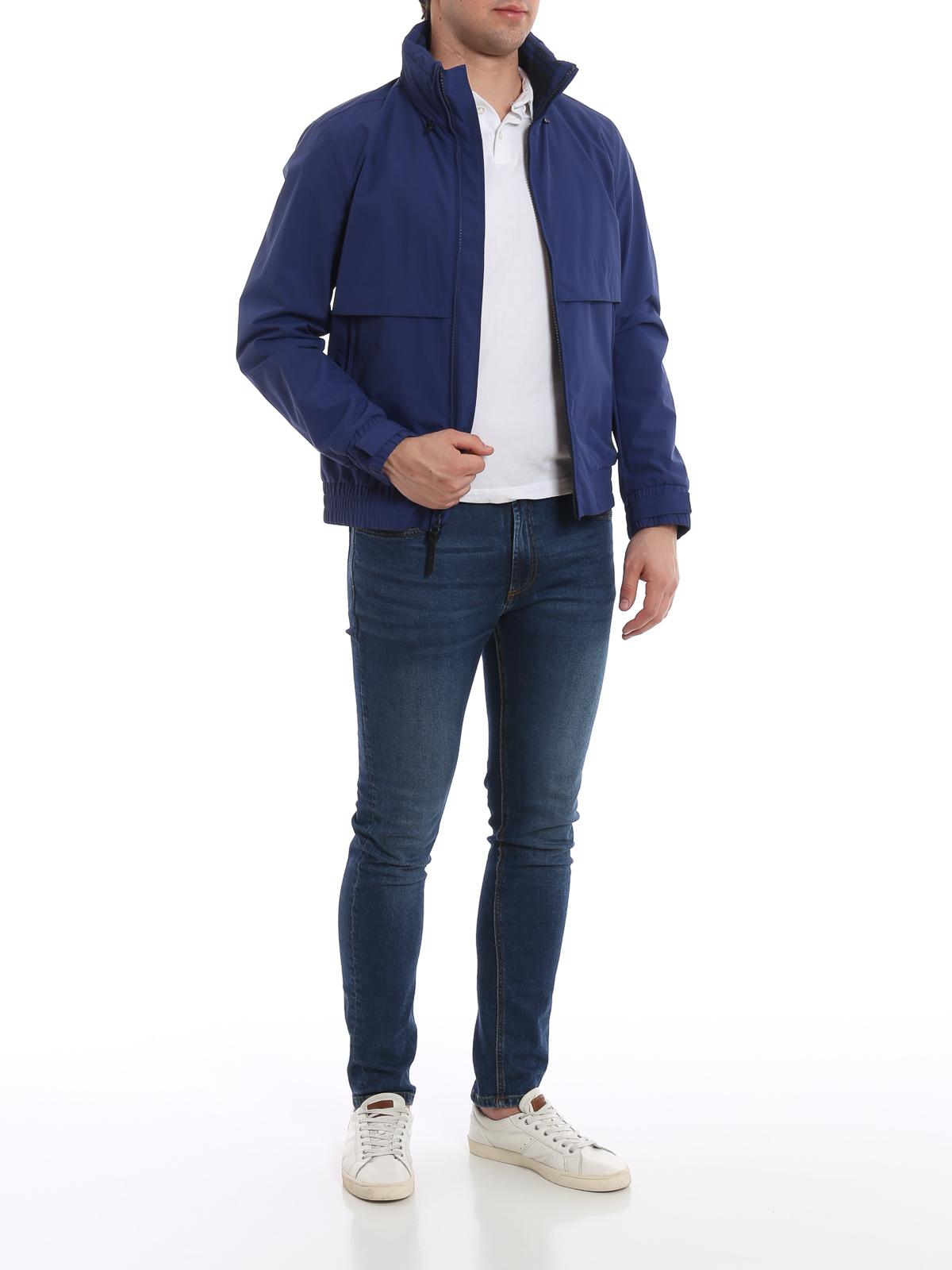 4eb2cc550 Woolrich - Mallard blueprint windbreaker - casual jackets ...