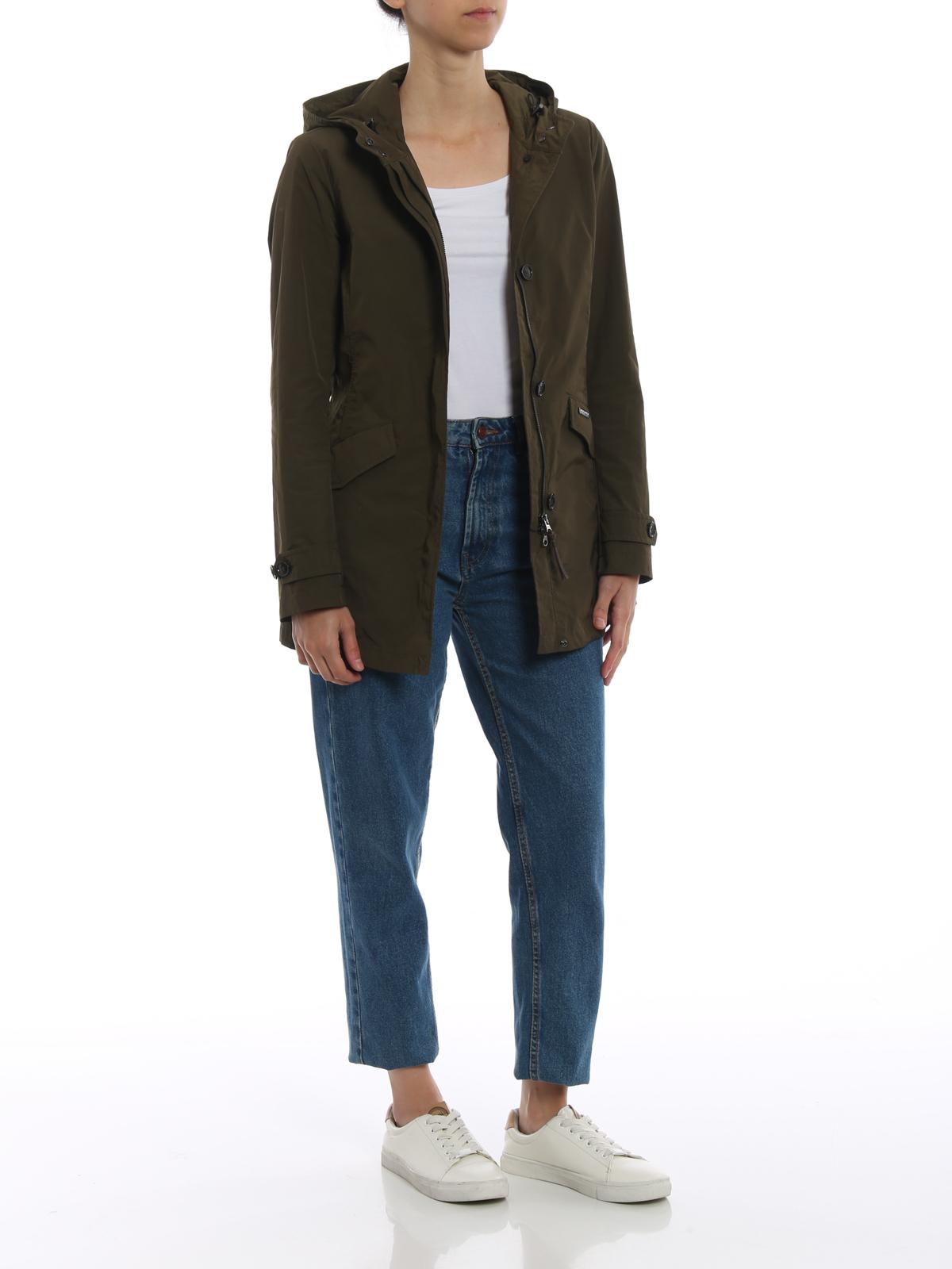 quality design 9265f fac07 Woolrich - Summer technical fabric parka - parkas ...