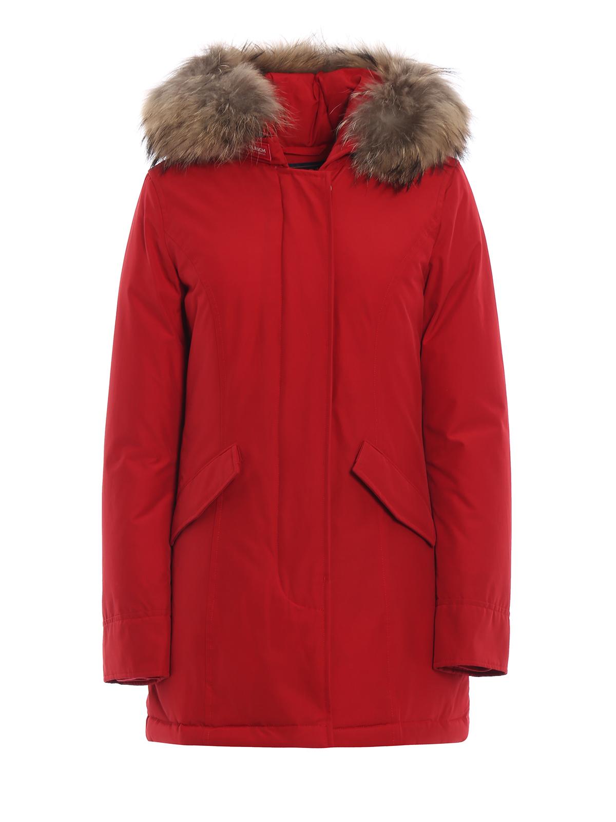 Parka Rosso Imbottiti Cappotti Woolrich Arctic Piumino 84BqHxOw