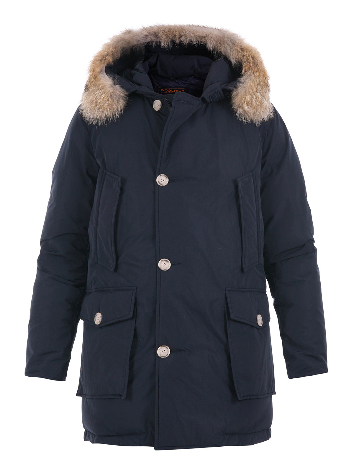 multi pockets padded parka by woolrich padded coats ikrix. Black Bedroom Furniture Sets. Home Design Ideas