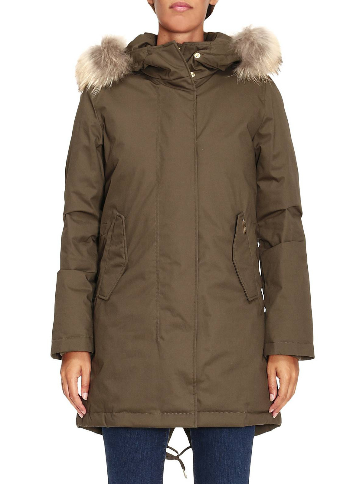 tiffany eskimo down parka by woolrich padded coats shop online at wwcps2500 lm10. Black Bedroom Furniture Sets. Home Design Ideas