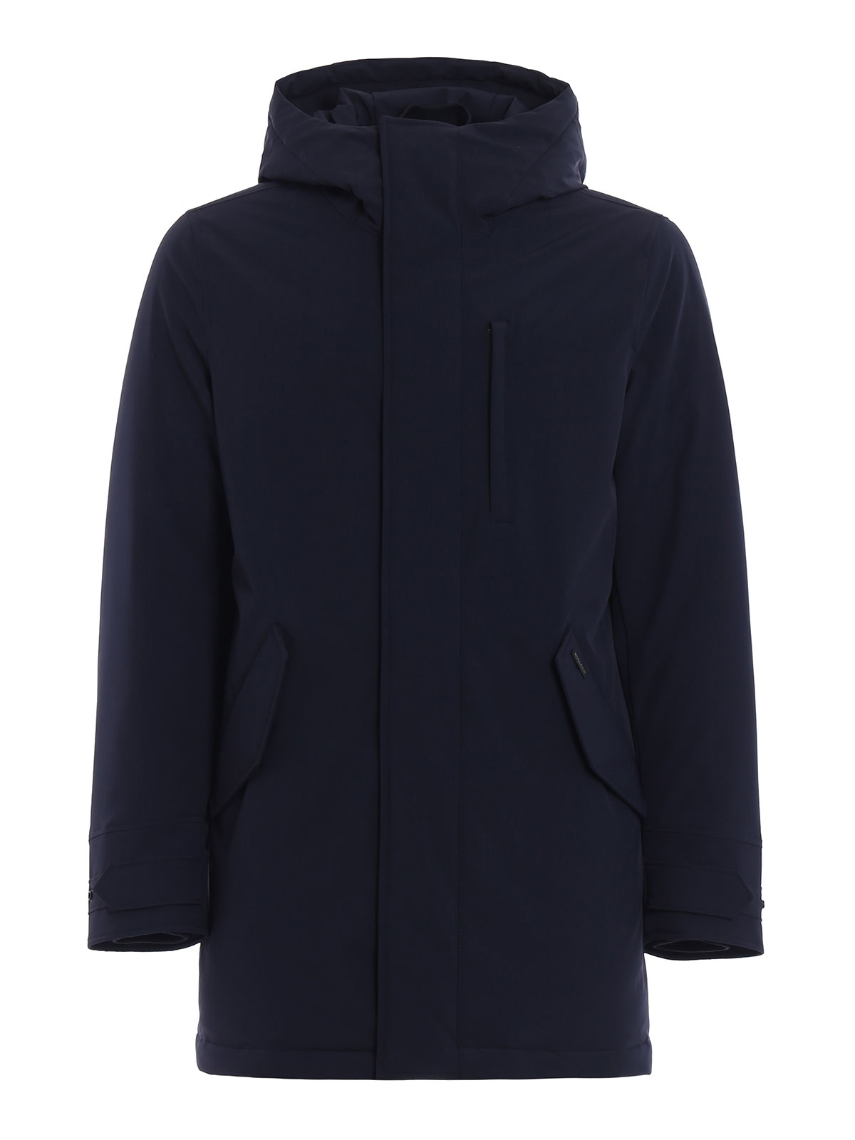stretch military padded parka by woolrich padded coats. Black Bedroom Furniture Sets. Home Design Ideas