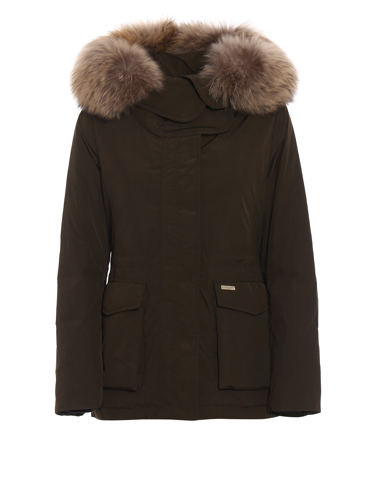 short military down parka by woolrich padded jackets ikrix. Black Bedroom Furniture Sets. Home Design Ideas