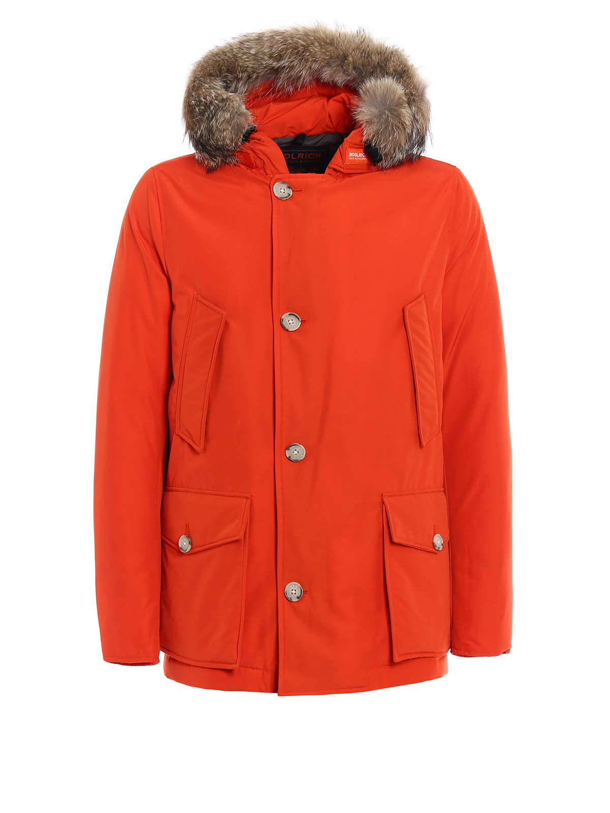 woolrich arctic anorak padded orange parka parkas wocps2586cn03tro. Black Bedroom Furniture Sets. Home Design Ideas