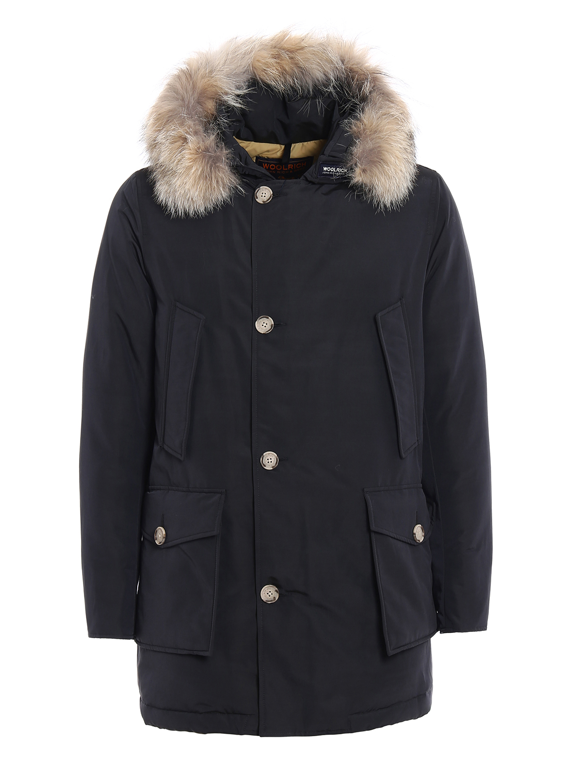 arctic parka padded slim coat by woolrich parkas ikrix. Black Bedroom Furniture Sets. Home Design Ideas