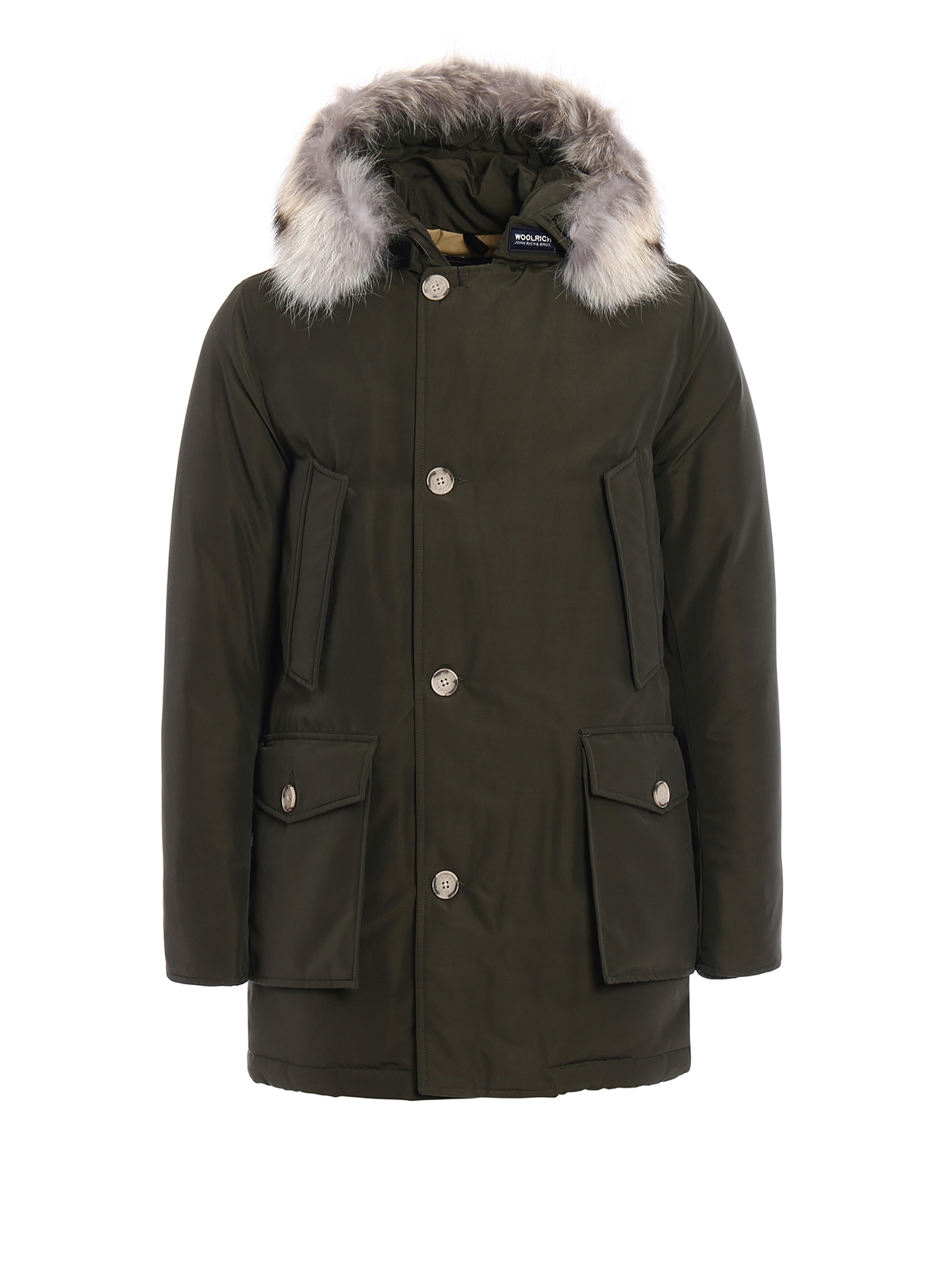 arctic parka slim padded coat by woolrich parkas ikrix. Black Bedroom Furniture Sets. Home Design Ideas