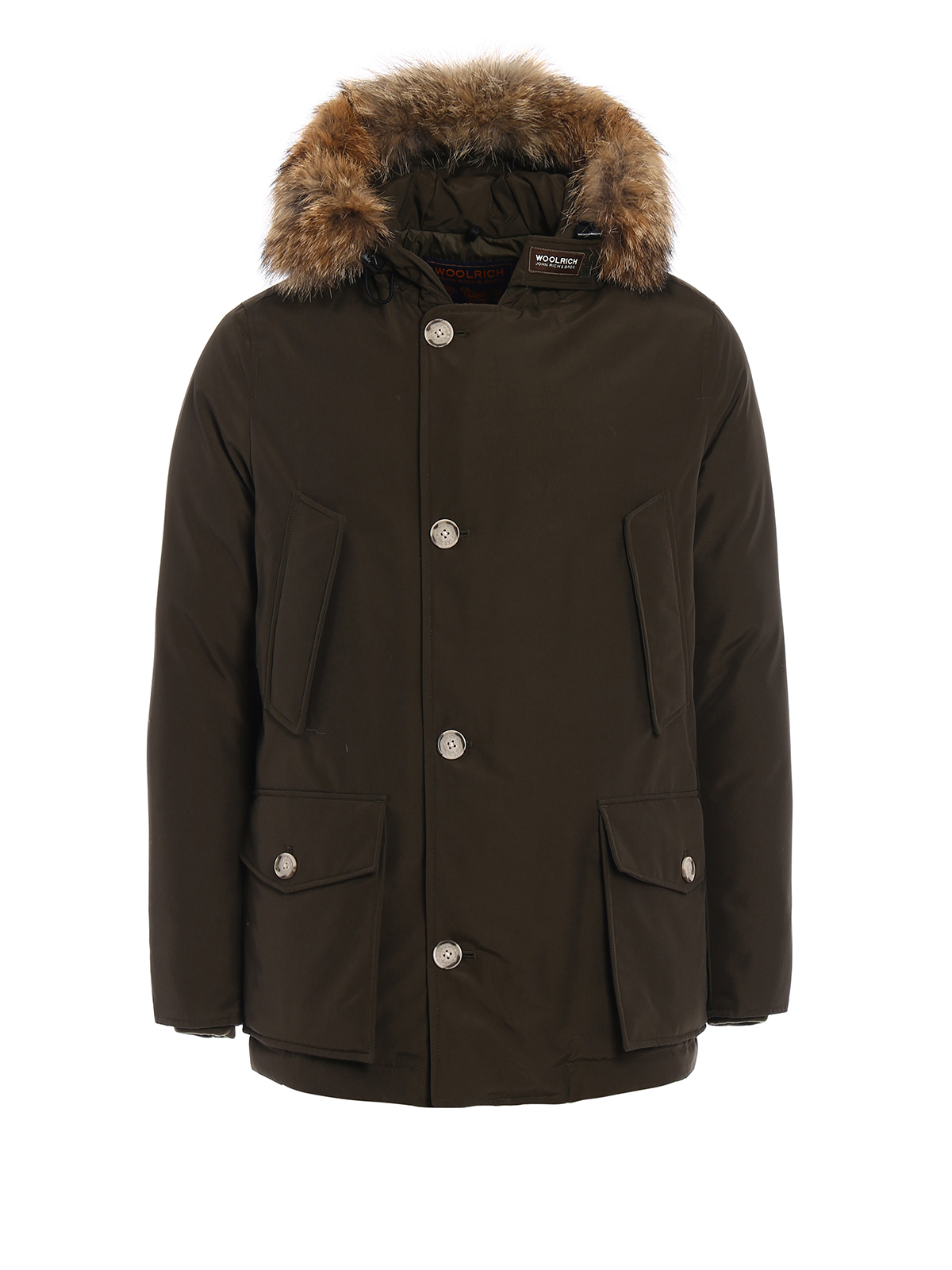 padded arctic anorak parka by woolrich parkas ikrix. Black Bedroom Furniture Sets. Home Design Ideas