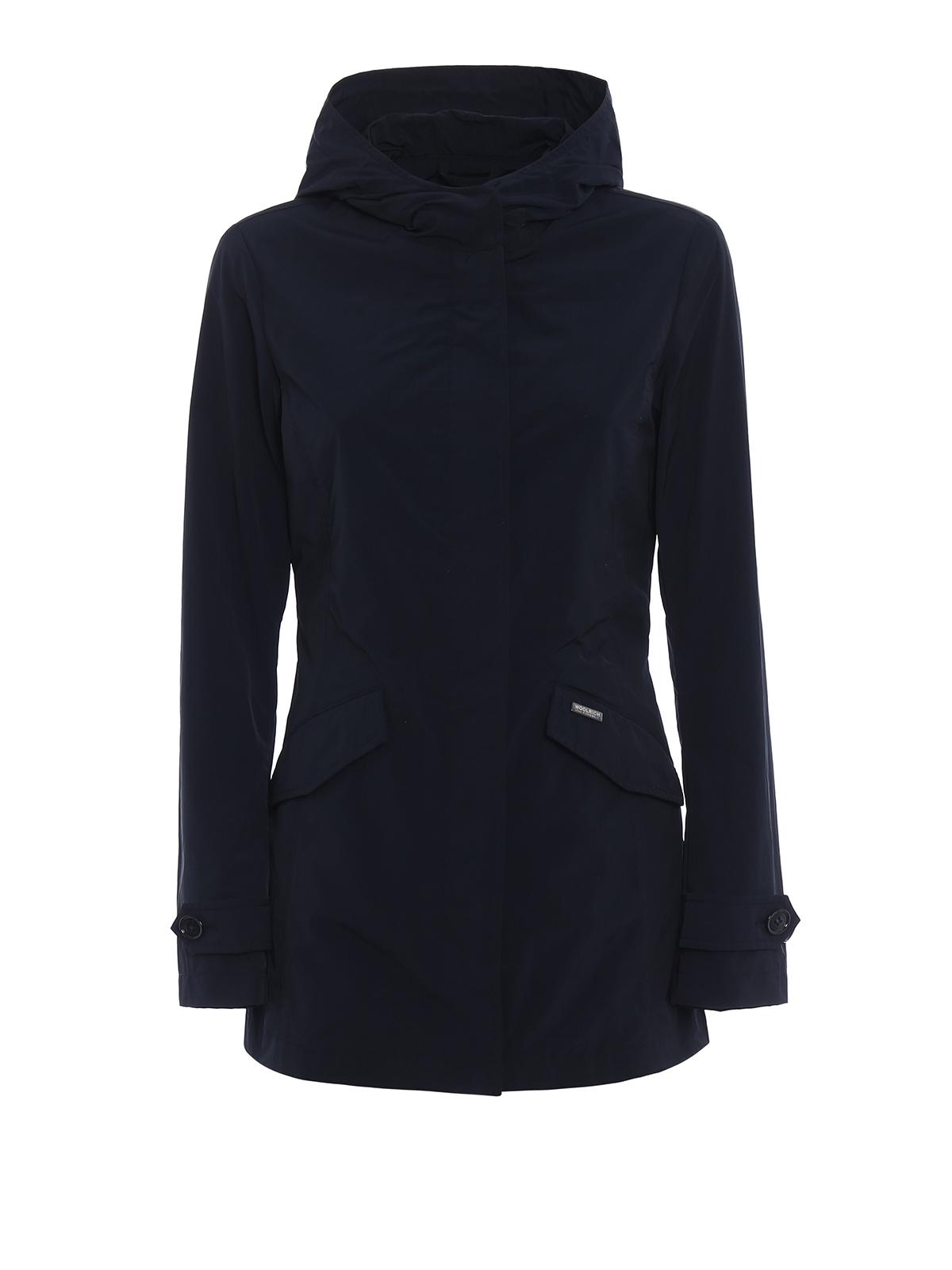 quality design 85fd5 de97c Woolrich - Summer hooded short parka - parkas ...