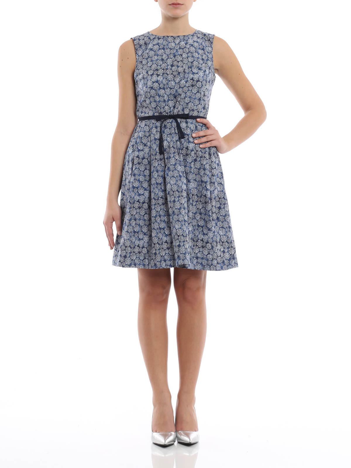 Floral Print Cotton Dress By Woolrich Short Dresses Ikrix