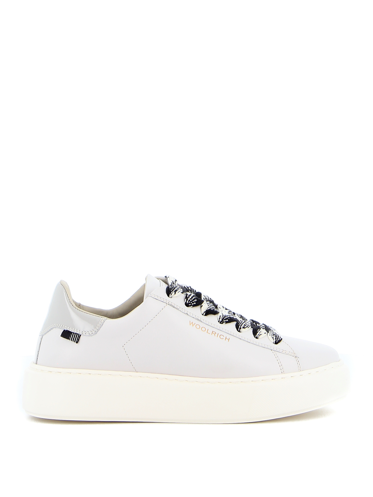 Woolrich Leathers LEATHER SNEAKERS