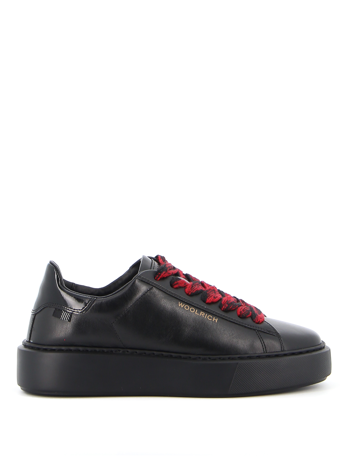 WOOLRICH LEATHER SNEAKERS