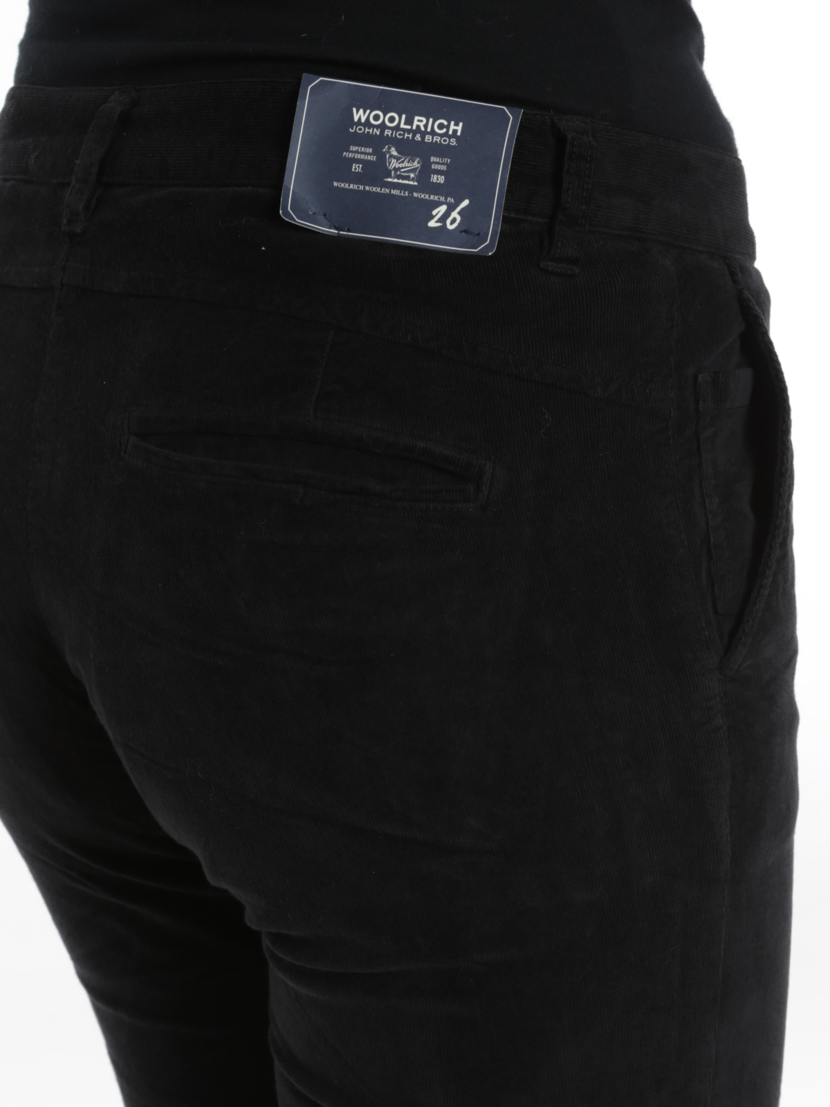 Pantaloni Velluto Microcostine Casual Woolrich A In T4qwqEdxv