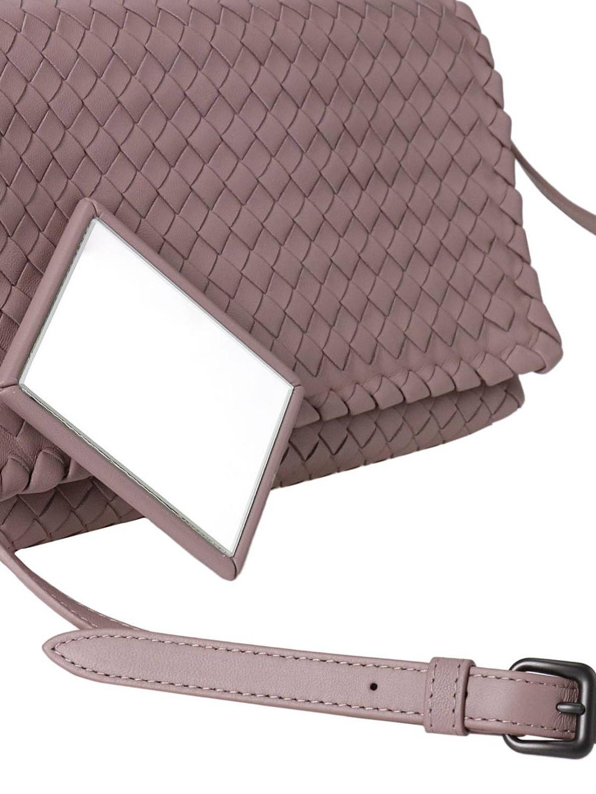 307ea1ecab4f Bottega Veneta - Woven leather cross body bag - cross body bags ...