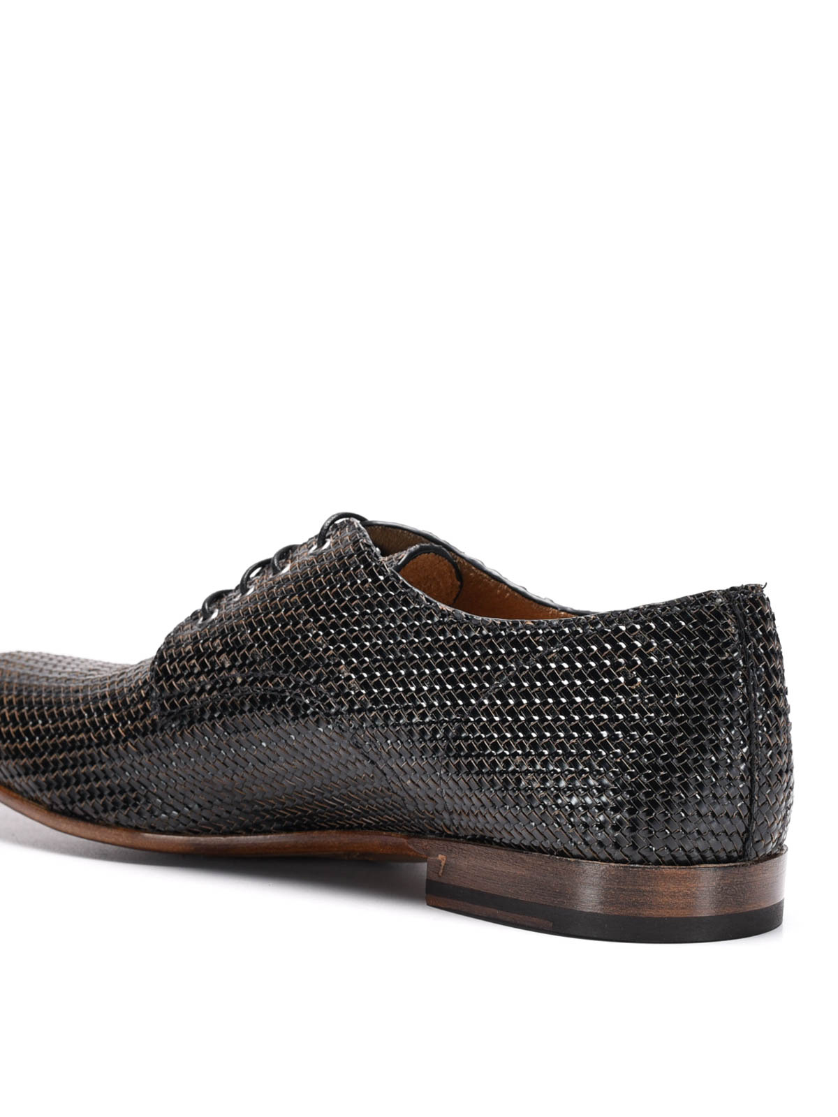 new styles 18eb6 ba4cd Raparo - Slip-on in pelle intrecciata - scarpe stringate ...