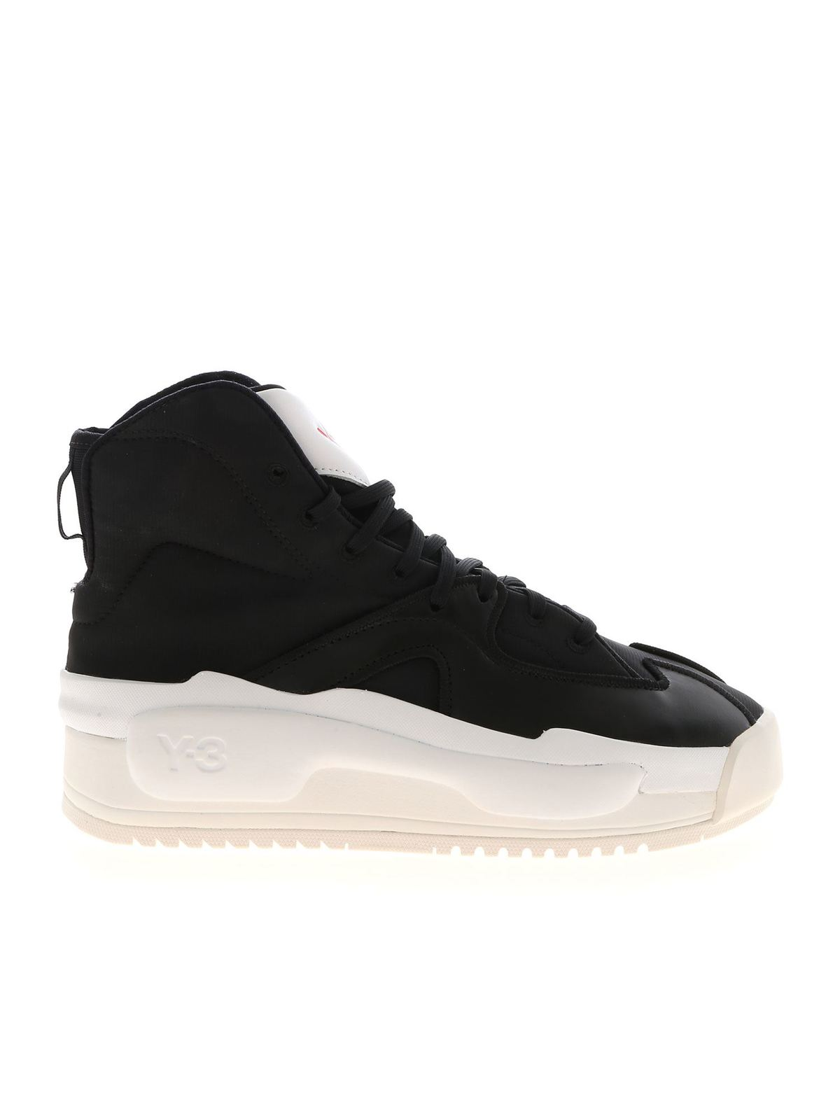 Y-3 HOKORI SNEAKERS IN BLACK