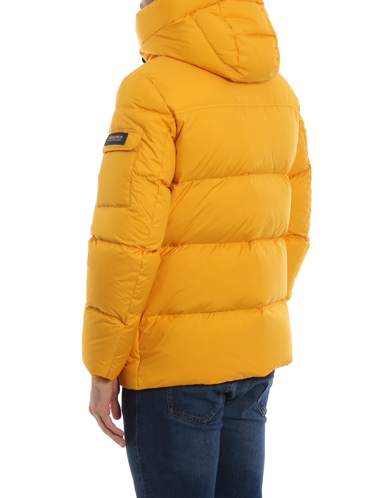 100% authentic fe7db 313ce Woolrich - Piumino giallo ocra Sierra Supreme - giacche ...