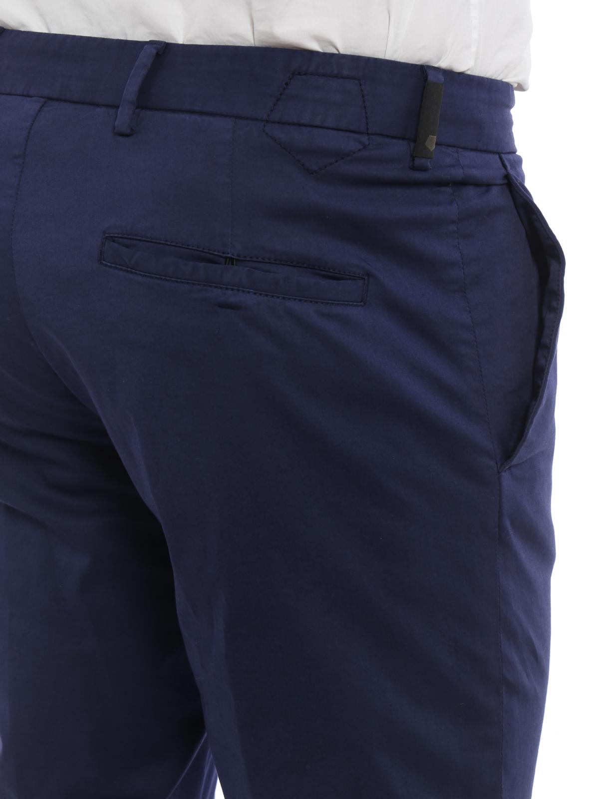 Z Zegna - Pantaloni slim in cotone - pantaloni casual - VM108 ZZ357 B08 43e72a218be