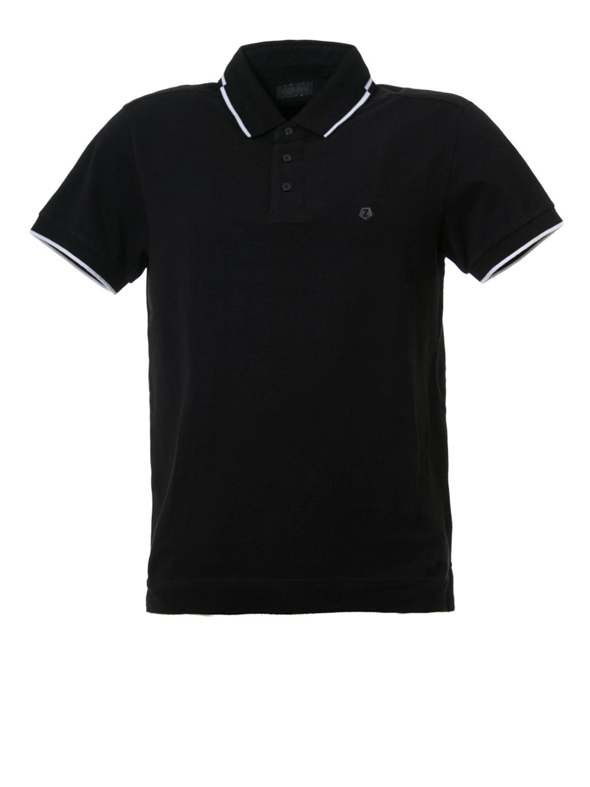 Classic cotton pique polo shirt by z zegna polo shirts for Zegna polo shirts sale