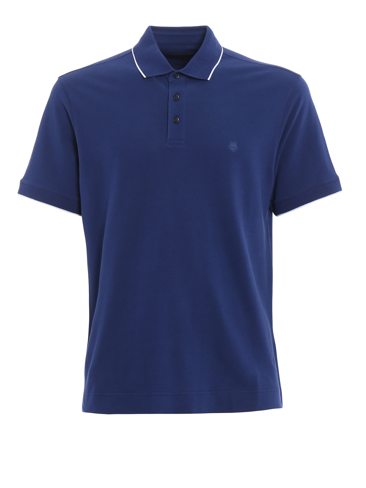 Cotton pique polo shirt by z zegna polo shirts ikrix for Zegna polo shirts sale