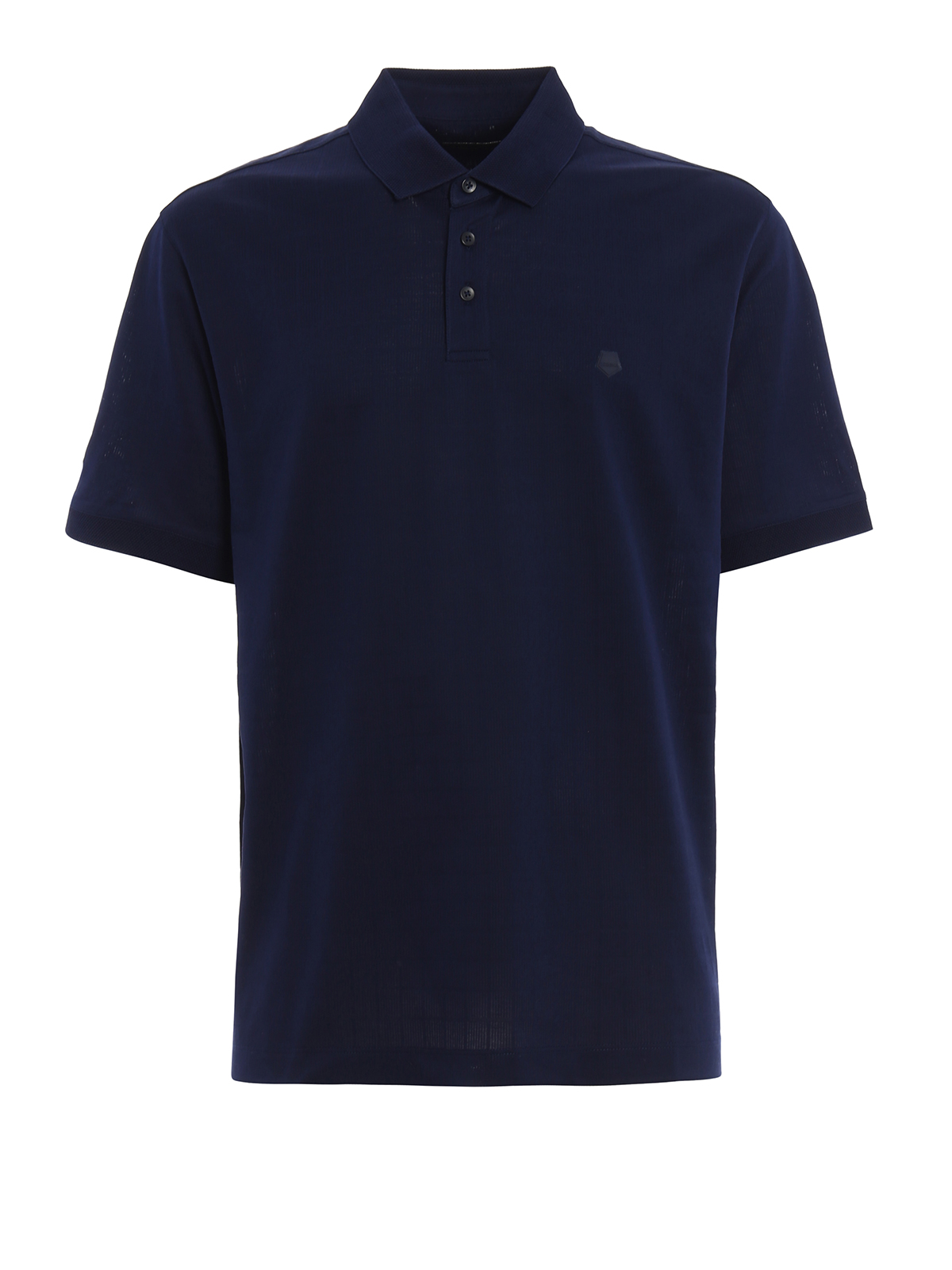 Micro pattern jersey polo shirt by z zegna polo shirts for Zegna polo shirts sale