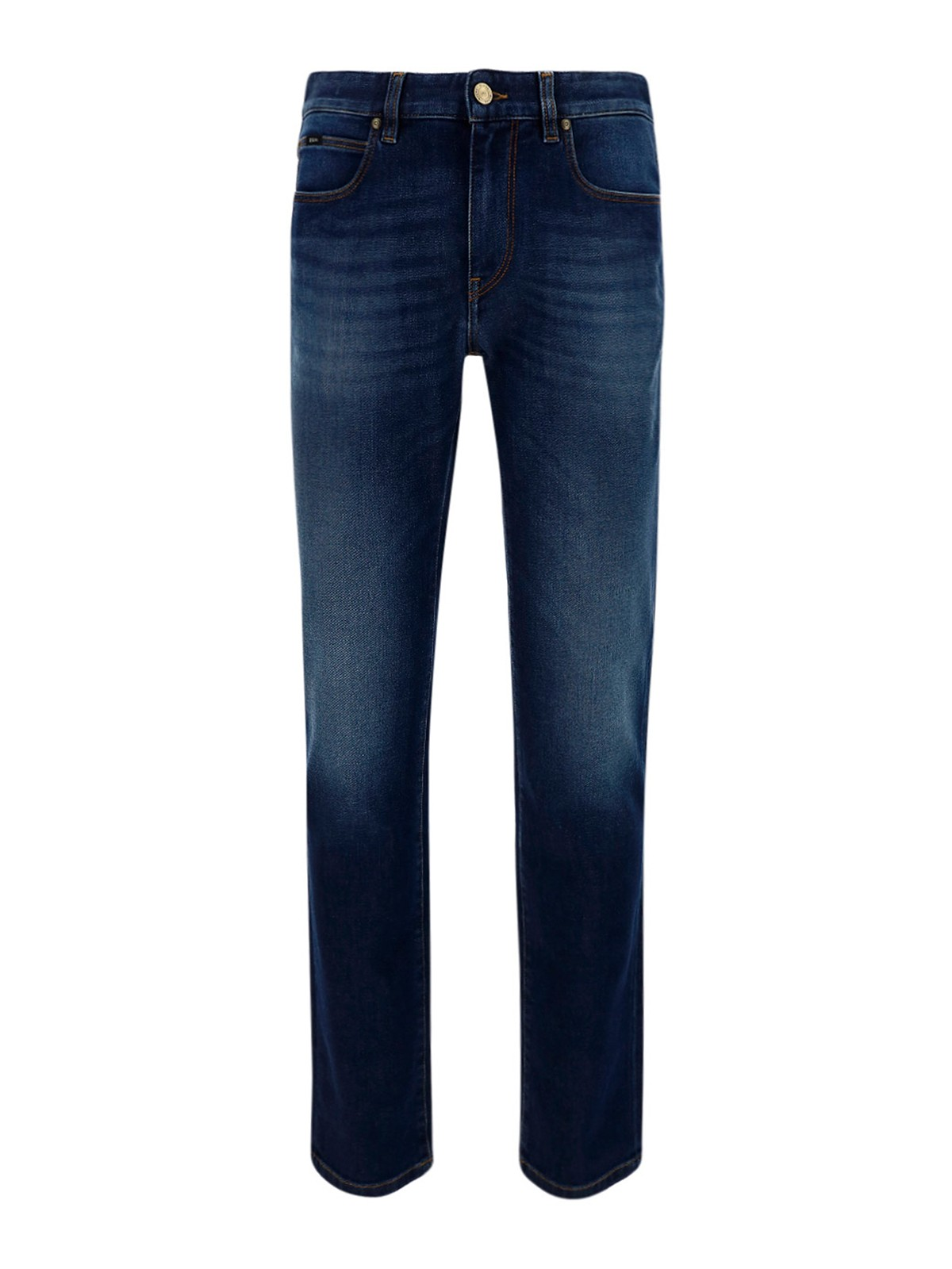 Z Zegna STRETCH STRAIGHT-LEG JEANS