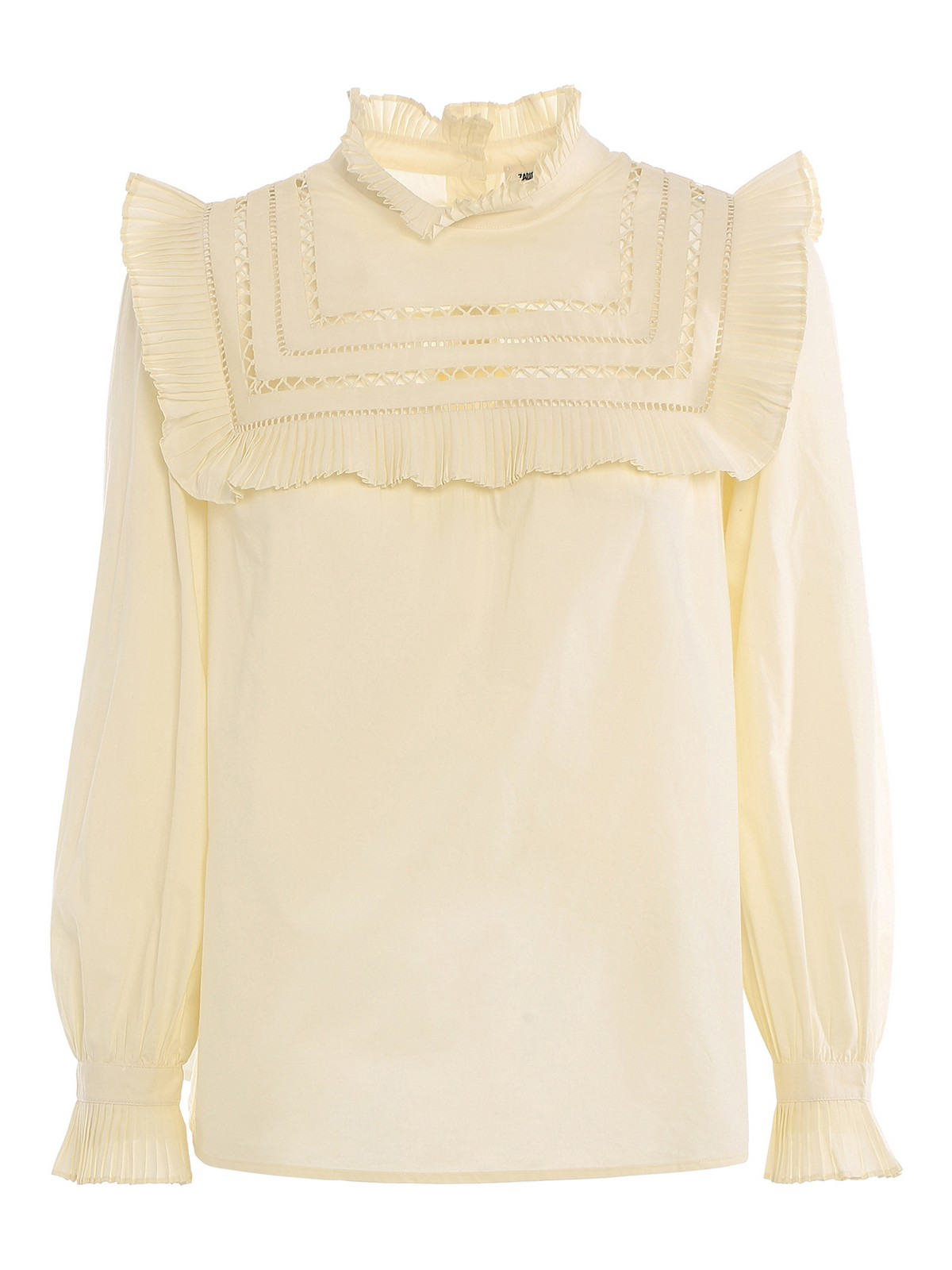 Zadig & Voltaire HIGH NECK BLOUSE