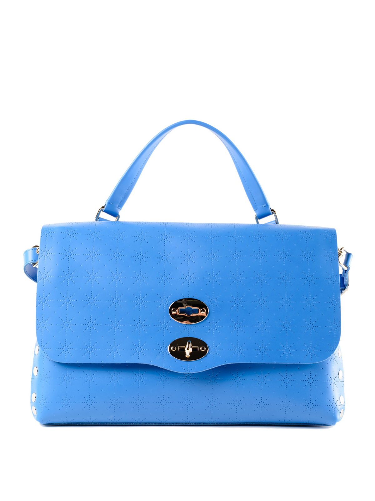 Zanellato Blue Astro Postina medium bag 2W3Zc1GJp1