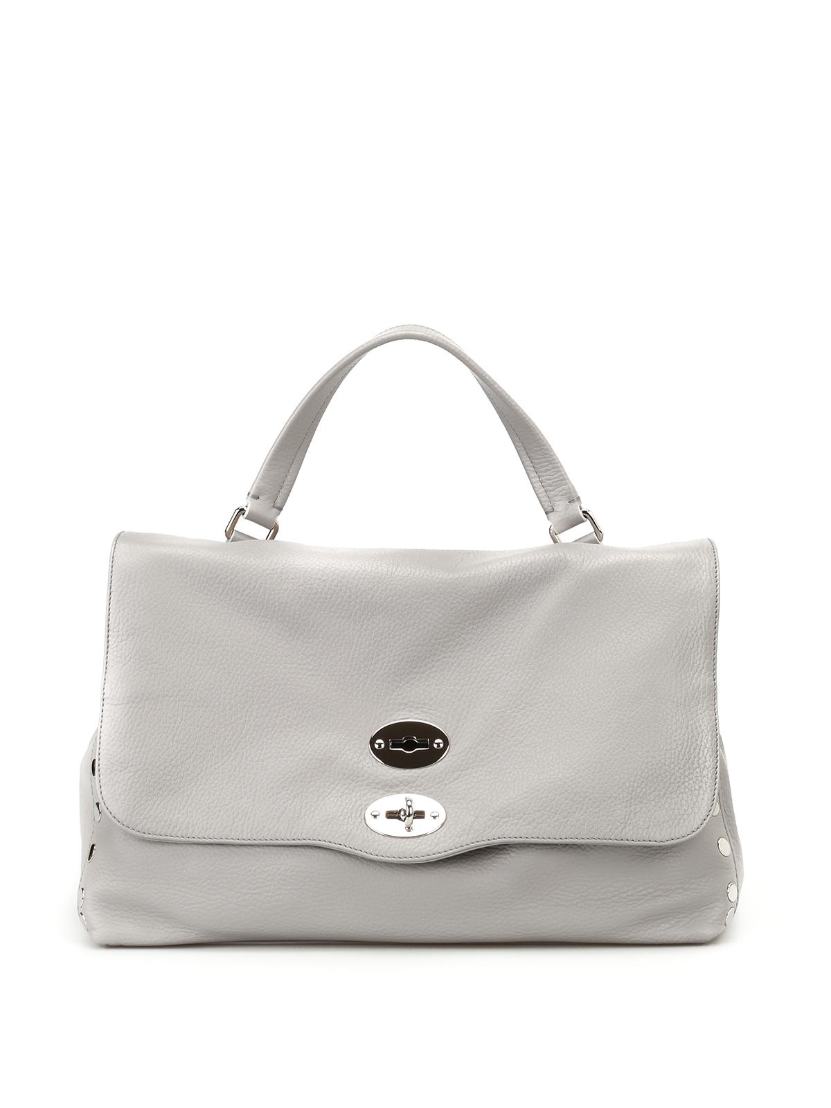 Grey Postina M shoulder bag Zanellato 19y0U0