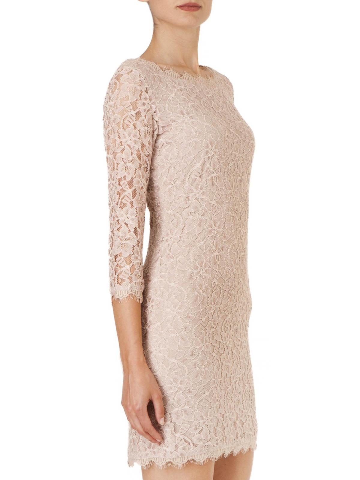 0786ac1bbb Diane Von Furstenberg - Zarita lace mini dress - short dresses ...