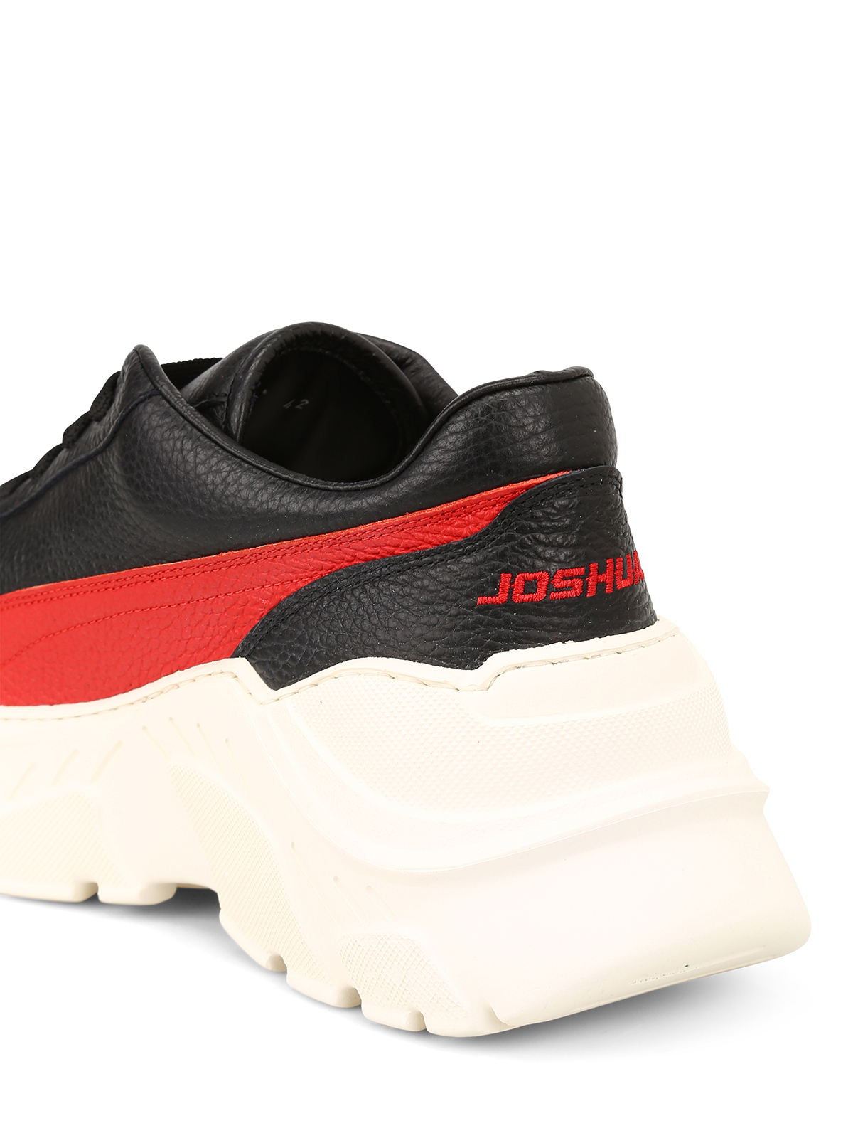 Joshua Sanders ZENITH FLIRT - Trainers - black/red RNaNTMe9