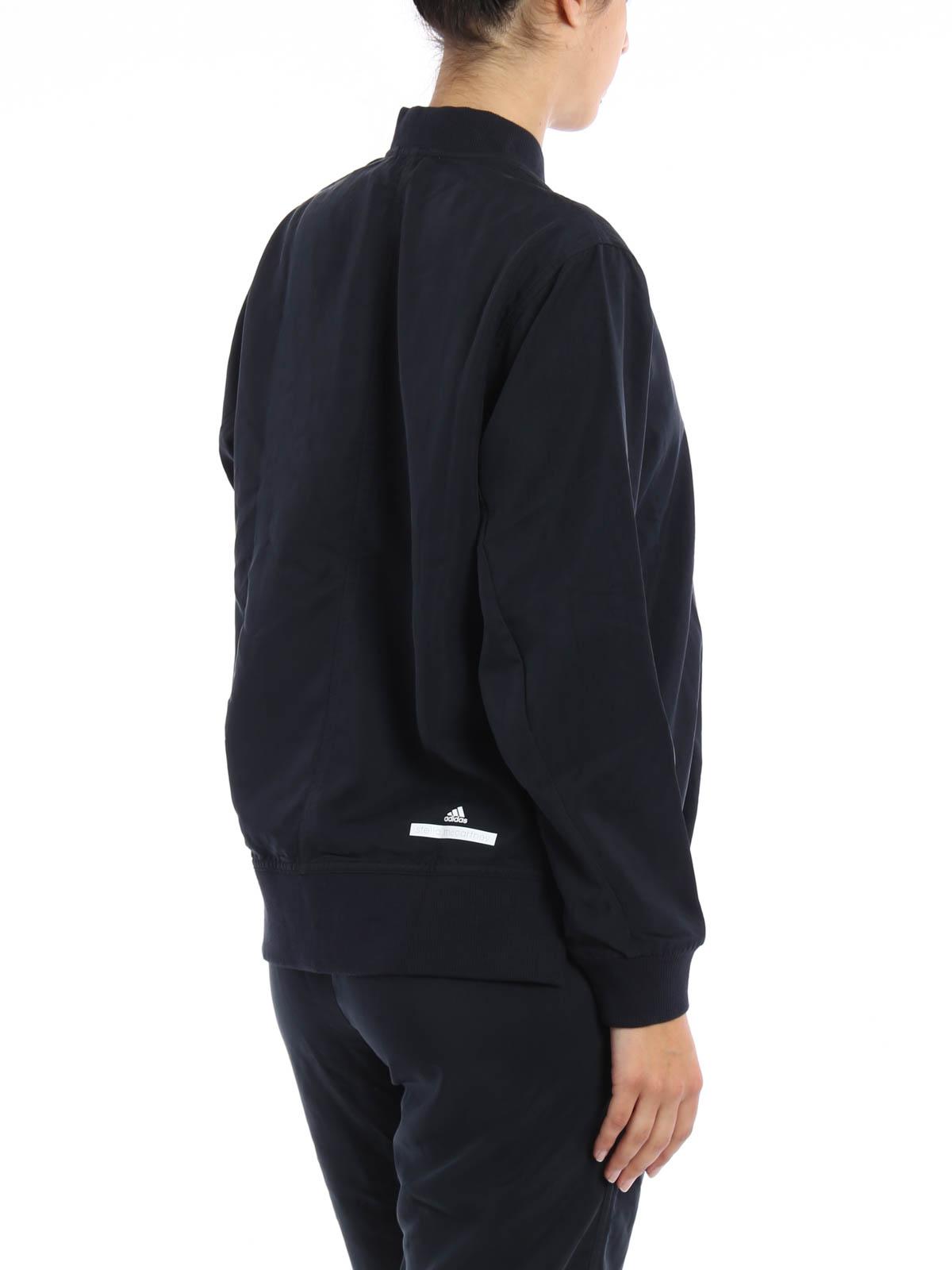 Bomber Stella By Adidas Mujer Mccartney Para Negra Chaqueta qw8qOd5I