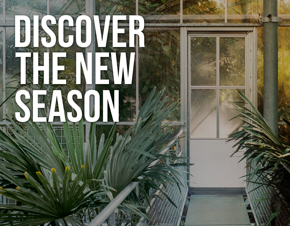 DISCOVER THE NEW SEASON