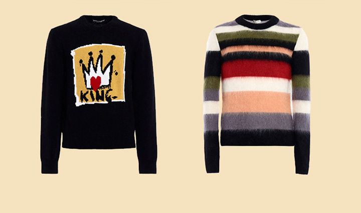 The return of the knitwear